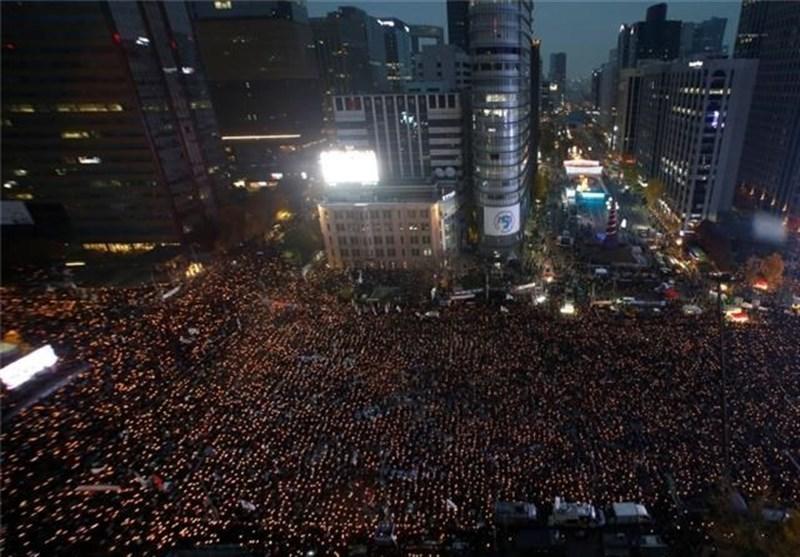 تظاهرات در کره جنوبی