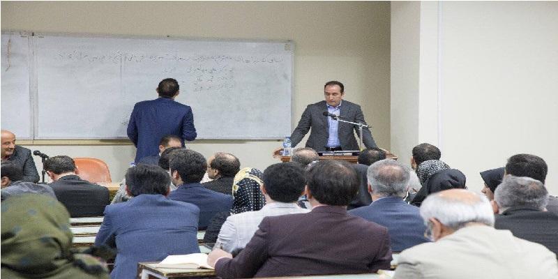 دکتر محمدی در انتخابات انجمن علمی آیین دادزسی