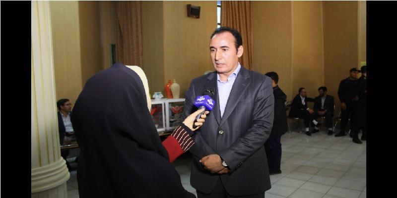 مصاحبه با دکتر محمدی در جشن گلریزان