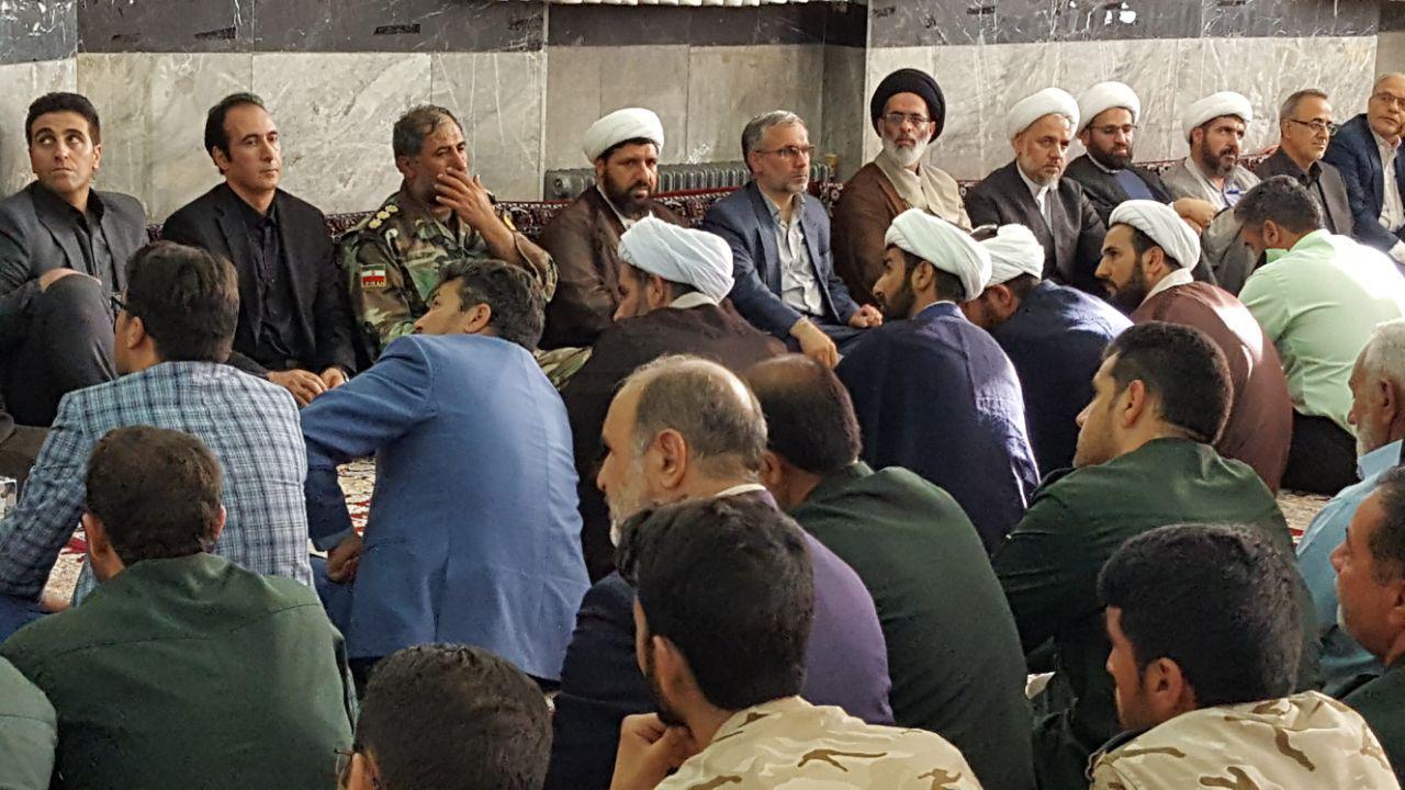 دکتر محمدی در مراسم بزرگداشت و تشییع شهید نجفی