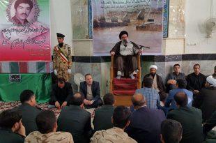 سخنرانی امام جمعه موقت تهران در مراسم تشییع شهید احمد نجفی در سایت دکتر محمدی