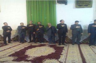 تقدیر وتشکر هیئت امنای مسجد گوندره از دکتر محمدی